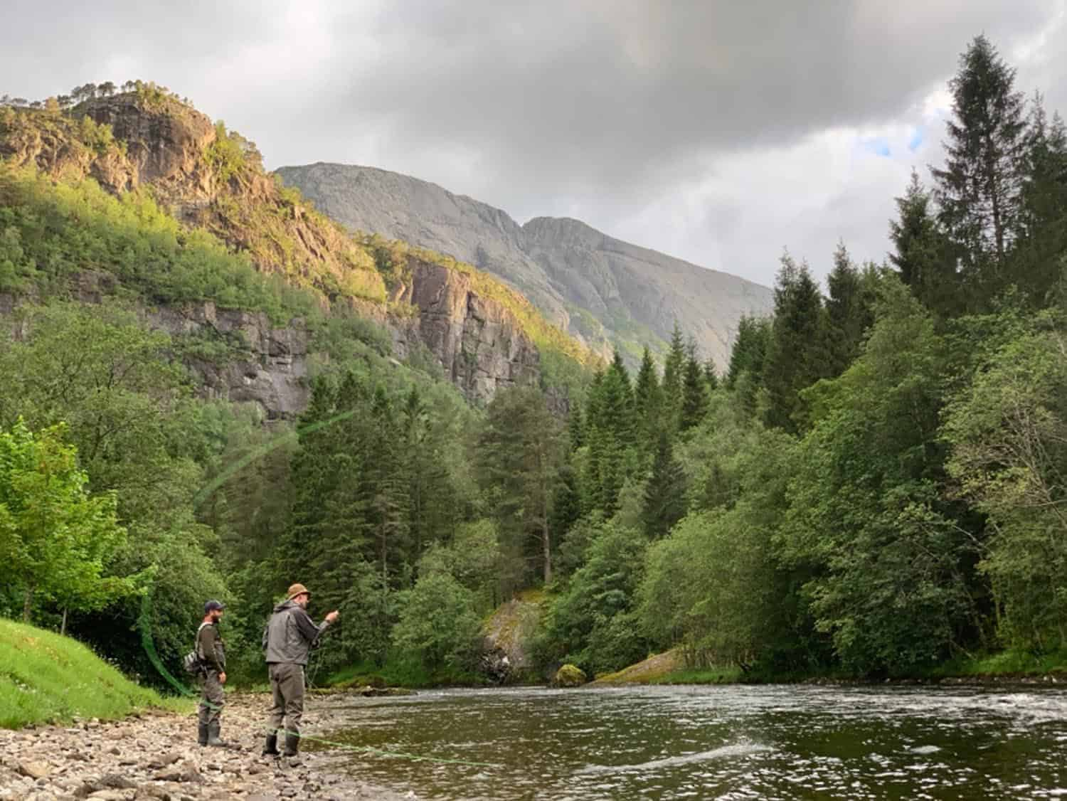 Protected: 3rd July update. Big river and lovely fish